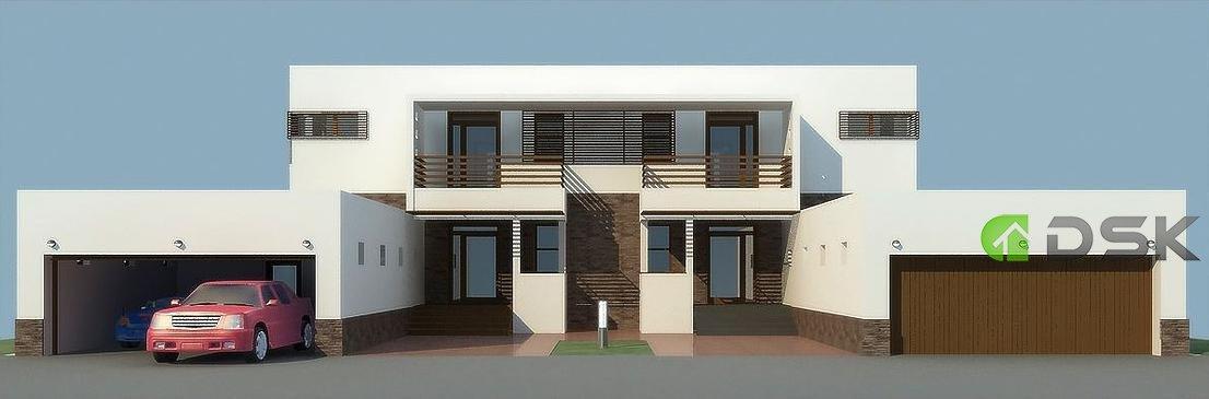 двухэтажный дом 395 кв.м. на 2 хозяина вид 2