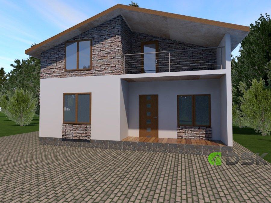 двухэтажный монолитный дом 180 кв.м. вид 2
