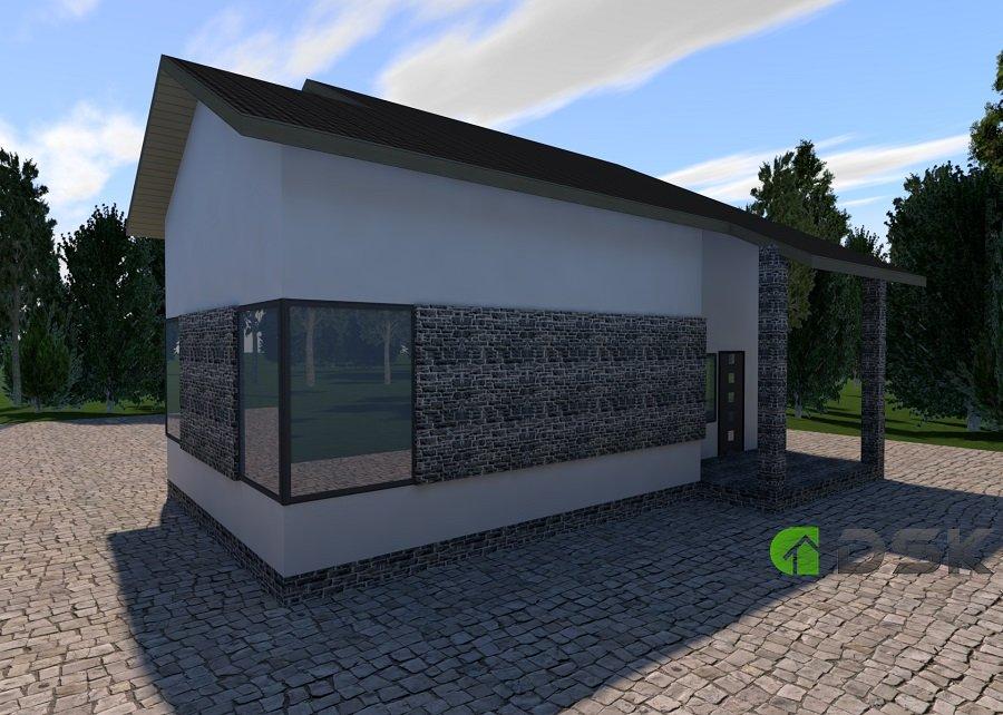 двухэтажный дом 169 кв.метров вид 2