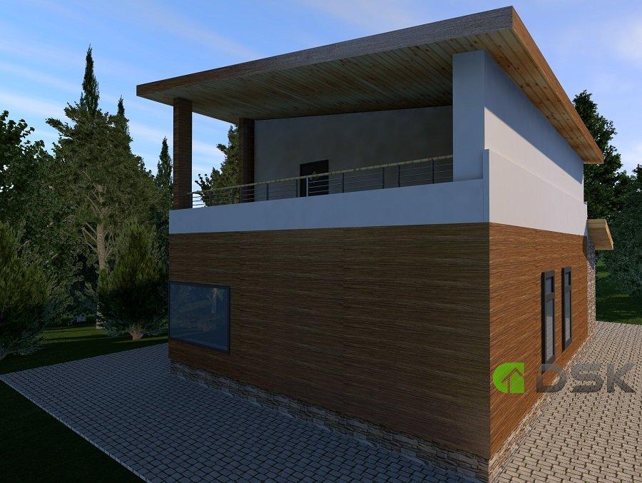 двухэтажный дом 160 кв.метров вид 2