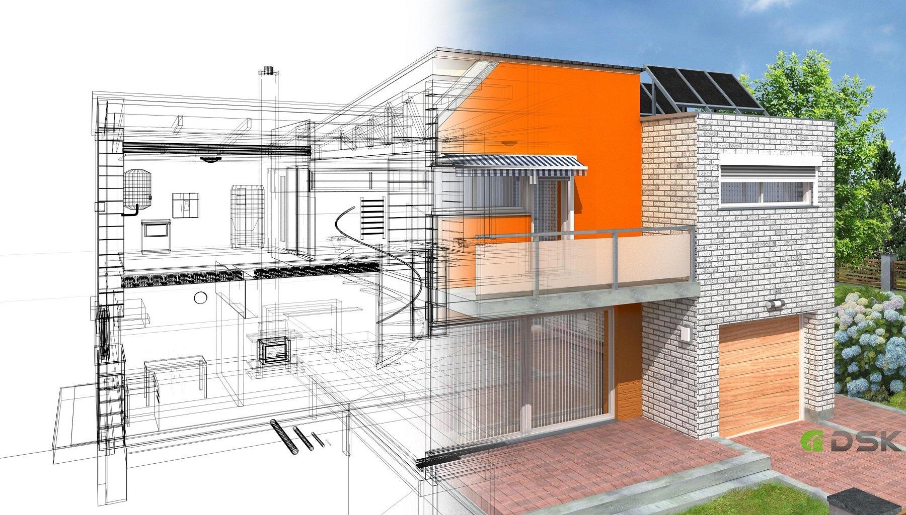проектирование кирпичных домов и коттеджей