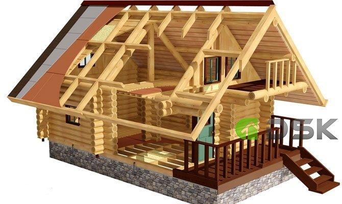 проектирование бревенчатых домов и коттеджей