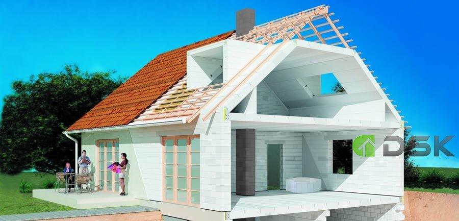 проектирование домов и коттеджей из газобетона