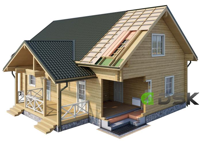 проектирование брусовых домов и коттеджей